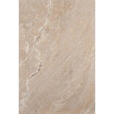 "Natural Stone 24"" x 16"" Chiseled Travertine Field Tile in Scabos"