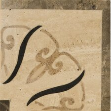 "<strong>Emser Tile</strong> Natural Stone 4"" x 4"" Trentino Travertine Listello Corner"