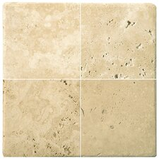 "<strong>Emser Tile</strong> Natural Stone 12"" x 12"" Travertine Mosaic in Ancient Beige"