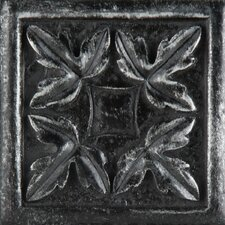 "<strong>Emser Tile</strong> Camelot 2"" x 2"" Arthur Dot in Iron"