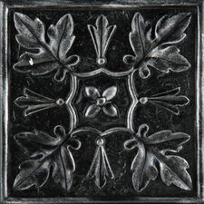 "<strong>Emser Tile</strong> Camelot 4"" x 4"" Arthur Deco in Iron"