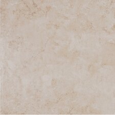 "Belgio 20"" x 20"" Glazed Porcelain Tile in Avorio"