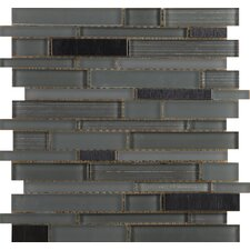 "Flash 13"" x 12"" Glass Mosaic in Lambent"