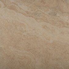 "Granada 13"" x 13"" Glazed Porcelain Tile in Bone"