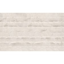 "Champagne Light 12"" x 24"" Honed Limestone Chiseled Tile in Champagne"