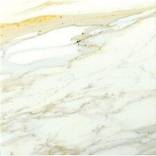 "<strong>Emser Tile</strong> Calacata Oro 12"" x 12"" Honed Marble Tile in Calacata"