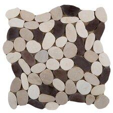 Venetian Random Sized Flat Pebble in Gelato