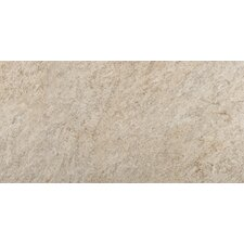 "Rock 12"" x 24"" Glazed Porcelain Tile in Felsite"