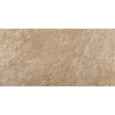 "Rock 12"" x 24"" Glazed Porcelain Tile in Monzonite"