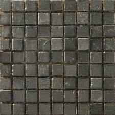 Treasure Metal Coated Travertine Mosaic in Reserve