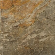 "Bombay 7"" x 7"" Porcelain Floor Tile in Salsette"