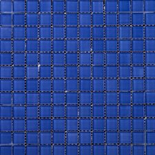Lucente Glossy Mosaic in Azul Royale