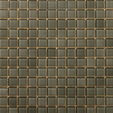 Lucente Glossy Mosaic in Pewter