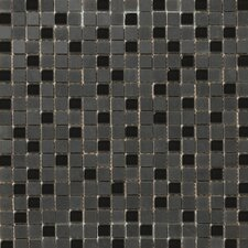 "<strong>Emser Tile</strong> Lucente 12"" x 12"" Stone and Glass Mosaic Blend in Zanfirico"