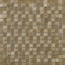 Lucente Stone and Glass Mosaic Blend in Regale
