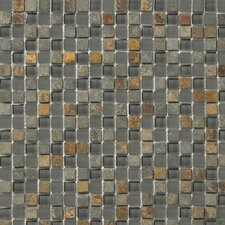 Lucente Stone and Glass Mosaic Blend in Romano