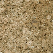 "Natural Stone 12"" x 12"" Granite Tile in Giallo Veneziano"