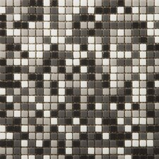 """Image 1/2"""" x 1/2"""" Glossy Glass Mosaic in Vision Blend"""
