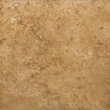 "Odyssey 20"" x 20"" Glazed Ceramic Floor Tile in Noce"