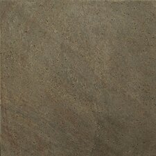 "Natural Stone 16"" x 16"" Honed Slate Field Tile in Copper"