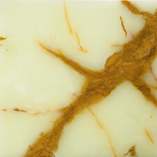 "Natural Stone 12"" x 12"" Polished Onyx Field Tile in Clover Green"
