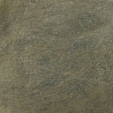 "Natural Stone 12"" x 12"" Honed Slate Field Tile in Golden Green"