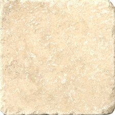 "Natural Stone 1"" x 1"" Vino Travertine Mosaic in Cream"