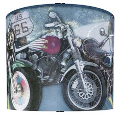 "11"" Motorcycles Drum Shade"