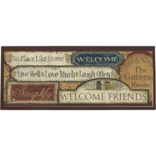 <strong>Illumalite Designs</strong> Country Sign Wall Plaque