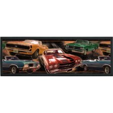 Muscle Cars Wall Plaque