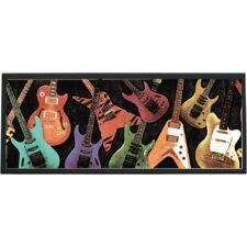 <strong>Illumalite Designs</strong> Guitar Montage Wall Plaque