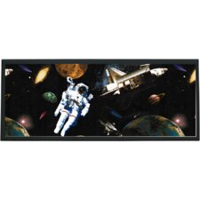 Astronauts in Space Wall Plaque