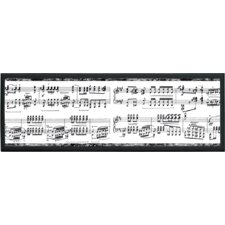 "Musical Notes Wall Art - 7"" x 20.5"""