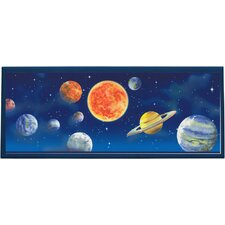 Planet Framed Painting Print