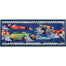 "<strong>Illumalite Designs</strong> Extreme Cars Wall Art with Pegs - 10.25"" x 25"""