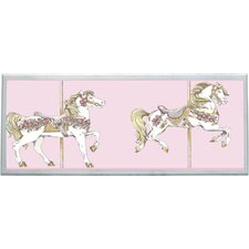 <strong>Illumalite Designs</strong> Toile Carousel Wall Plaque