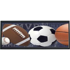 Mixed Sports Ball Wall Plaque