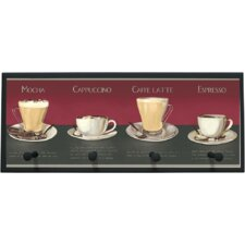 Coffee Recipe Wall Plaque
