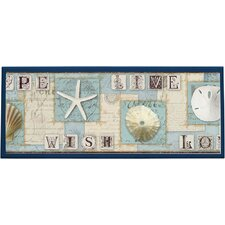 Beach Journal Wall Plaque