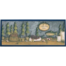 Lakeside Cabin Wall  Painting Print on Plaque