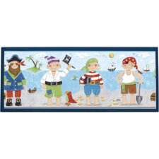 Pirates Wall Plaque