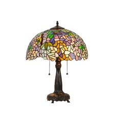 "Wisteria Phoebe 21.85"" H Table Lamp with Bowl Shade"