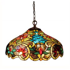 Victorian 2 Light Leslie Ceiling Bowl Pendant