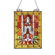 <strong>Chloe Lighting</strong> Victorian Rowena Window Panel