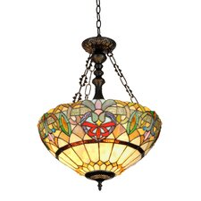 Victorian 2 Light Hester Inverted Ceiling Pendent