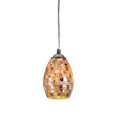 Mosaic 1 Light Ravenna Mini Pendant