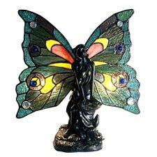 "Tiffany Fairy 12"" H Table Lamp"