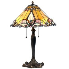 <strong>Chloe Lighting</strong> Tiffany Style Victorian Table Lamp