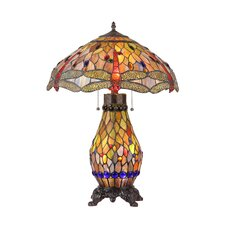 """Anisoptera Purity 25.6"""" H Table Lamp with Bowl Shade"""