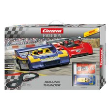 Evolution Rolling Thunder Slot Car Playset